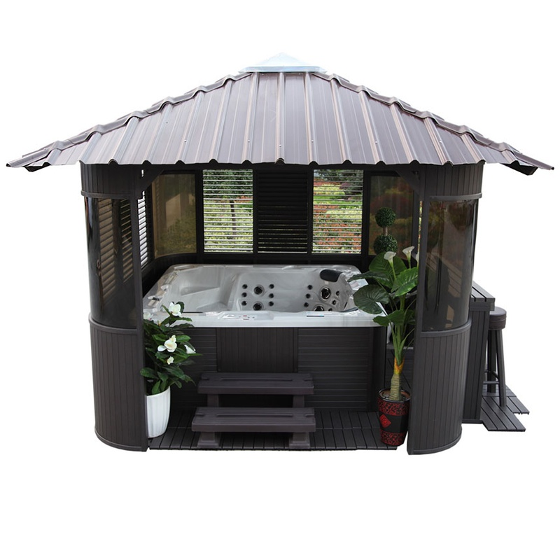 frazer gazebo canadian spa ireland. Black Bedroom Furniture Sets. Home Design Ideas